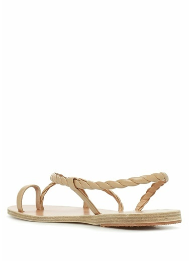 Ancient Greek Sandals Sandalet Bej